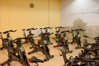 Indoor Cycling Kursraum